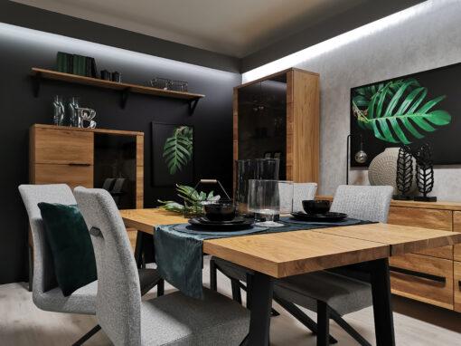 Projekt salonu firmowego dla firmy Mebin