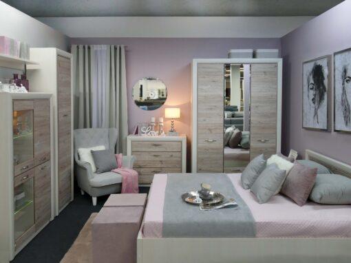 Projekt romantycznej sypialni