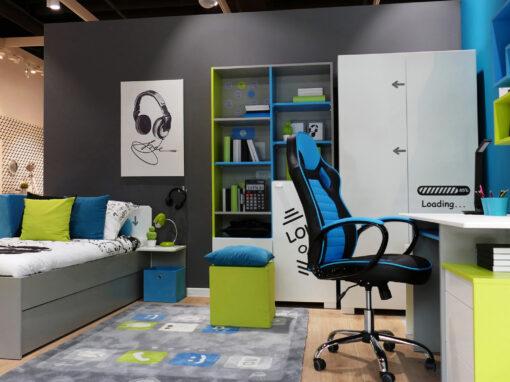 Projekt salonu firmowego dla firmy Meblik