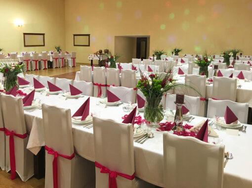 Aranżacja sali weselnej